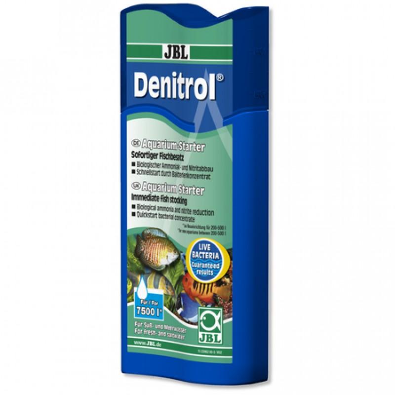 JBL Denitrol Препарат с полезными бактериями для быстрого запуска аквариума, 250 мл