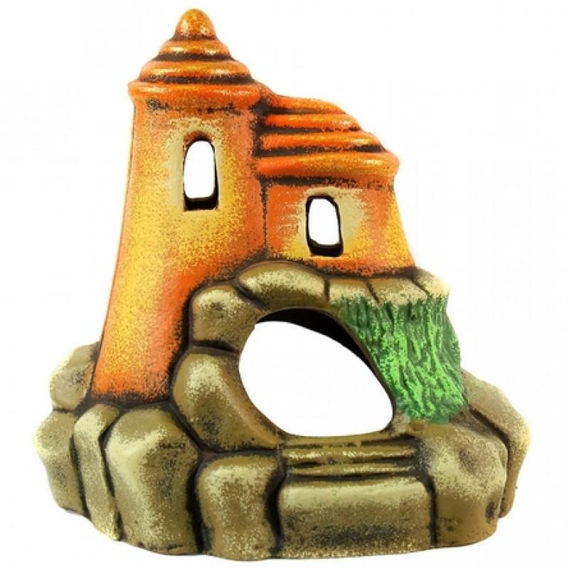 Замок с круглой крышой