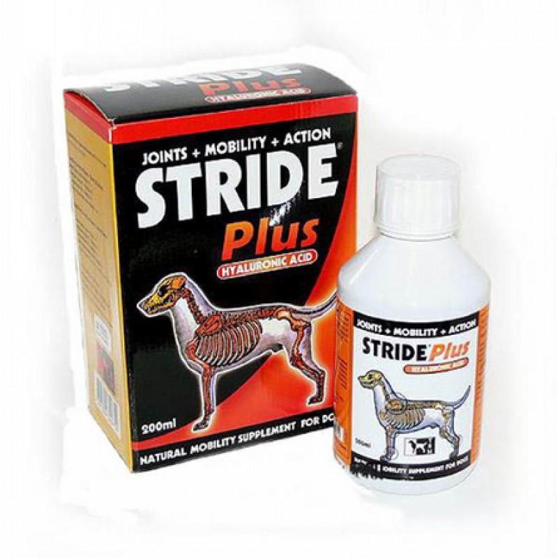 Stride Plus Кормовая добавка для собак и щенков для опорно-двигательного аппарата, 200 мл