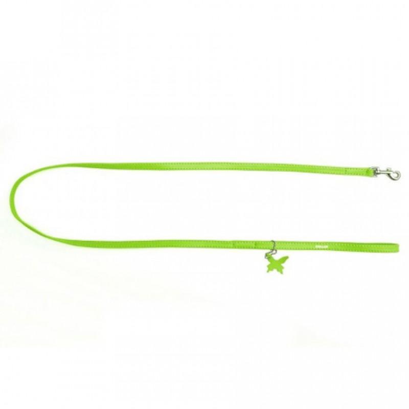 CoLLaR GLAMOUR Поводок зеленый (ширина 9 мм, длина 122 см)