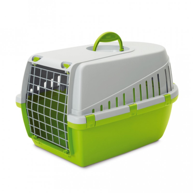 Savic Trotter 2 Переноска для животных, светло-зелёная