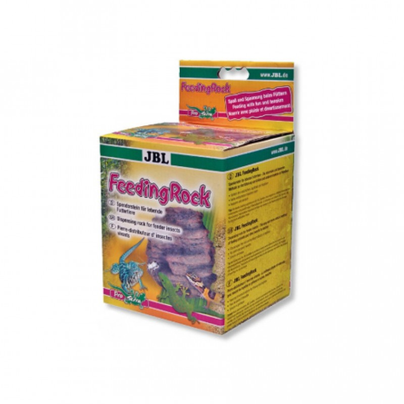 JBL FeedingRock Камень-кормушка для рептилий, для живых кормов