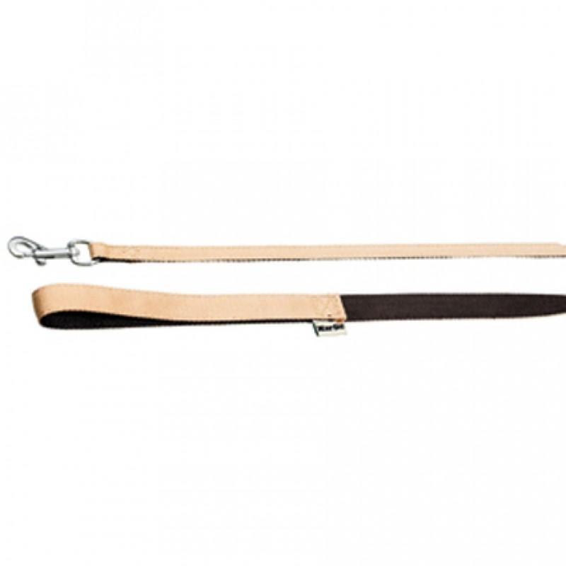 Karlie Поводок бамбуковый для собак, ширина 1 см, длина 1 м, бежево-коричневый
