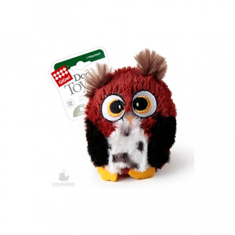 GiGwi Dog Toys игрушка для собак, сова
