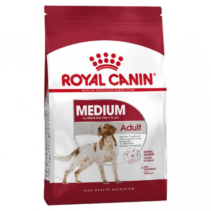 Royal Canin Medium Adult Сухой корм для взрослых собак средних пород, 3 кг