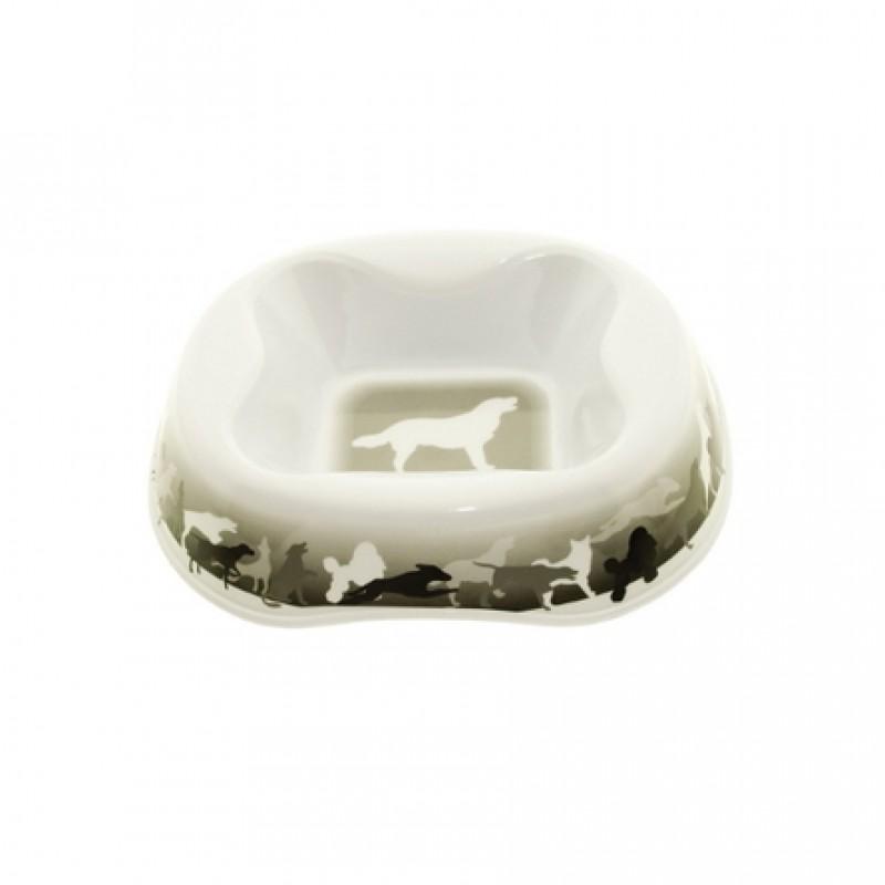 Dezzie Миска для собак, с рисунком, пластик