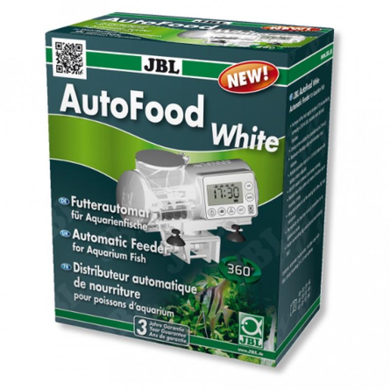 JBL AutoFood White Автоматическая кормушка для аквариумных рыб, белая