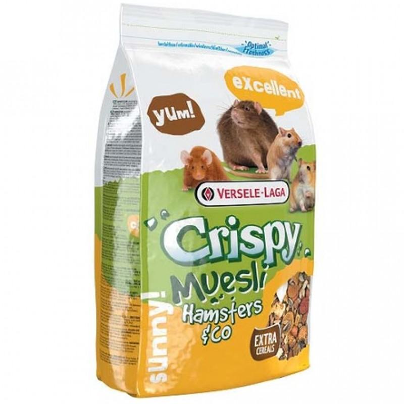 Versele Laga Crispy Muesli Hamster Корм для хомяков, 400 гр