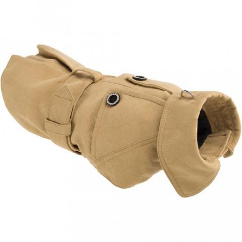 Ferplast Sherlok Пальто с ошейником для собак, размер 28 см