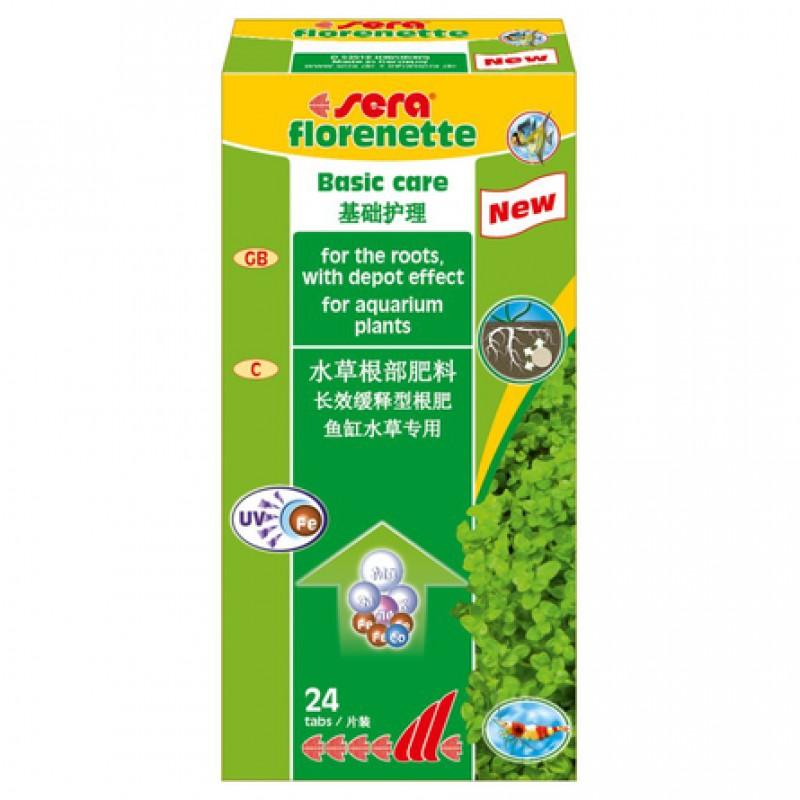 Sera Florenette A таблетированое удобрение для растений 24 таб